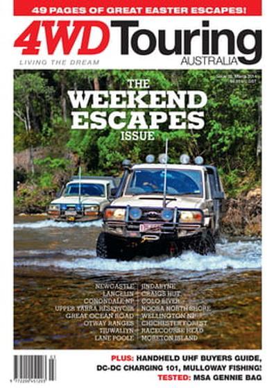 4WD Touring Australia Issue 20 magazine cover