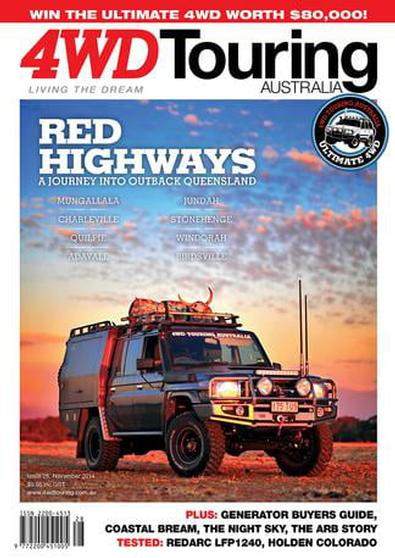 4WD Touring Australia Issue 28 magazine cover