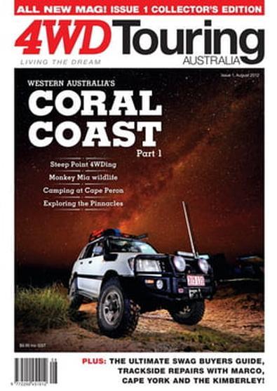 4WD Touring Australia Issue 1 magazine cover