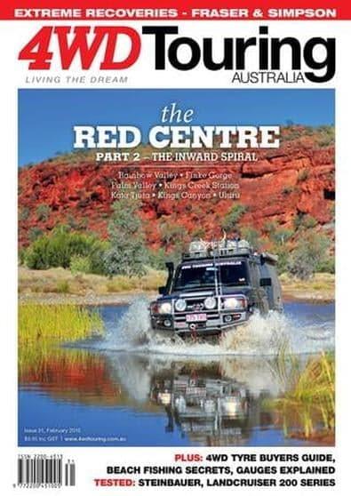 4WD Touring Australia Issue 31 magazine cover