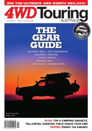 4WD Touring Australia Issue 23 magazine cover