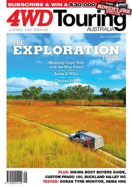 4WD Touring Australia Issue 14 magazine cover
