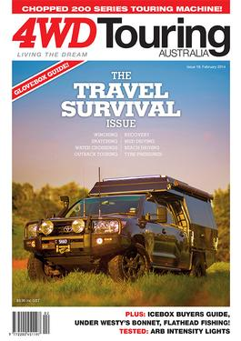 4WD Touring Australia Issue 19 magazine cover