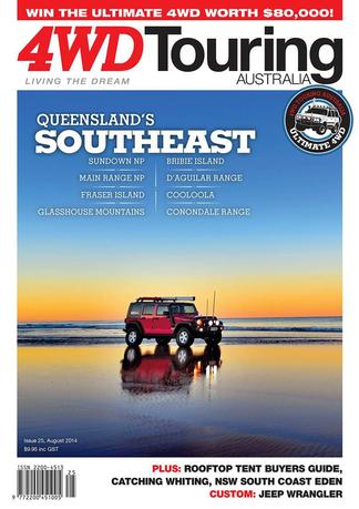 4WD Touring Australia Issue 25 magazine cover
