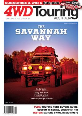4WD Touring Australia Issue 15 magazine cover
