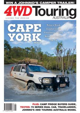 4WD Touring Australia Issue 6 magazine cover