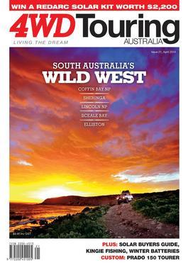 4WD Touring Australia Issue 21 magazine cover