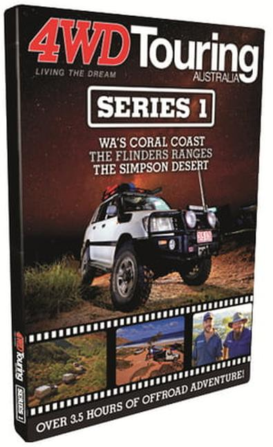 4WD Touring Australia: Series 1 DVD cover