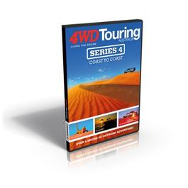 4WD Touring Australia: Series 4 DVD cover