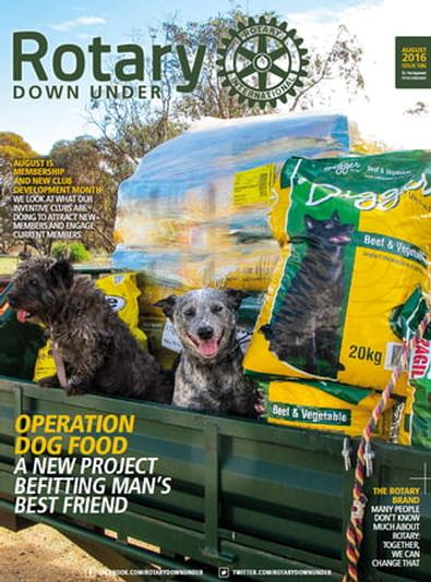 Rotary Down Under magazine cover
