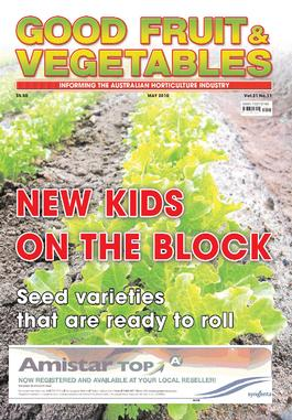Good Fruit & Vegetables magazine cover