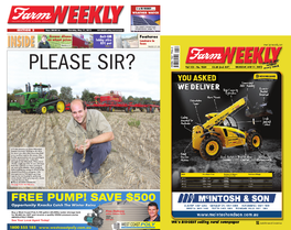 Farm Weekly newspaper cover