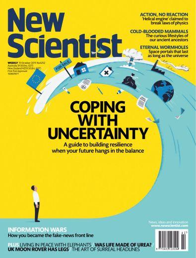 New Scientist magazine cover