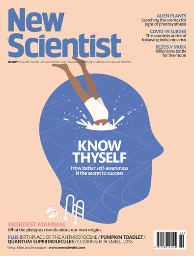 New Scientist magazine cover