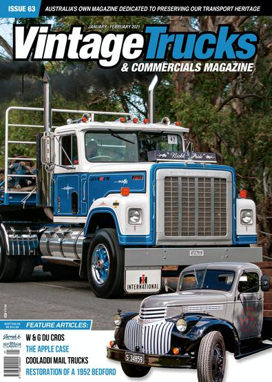 Vintage Trucks and Commercials Magazine cover