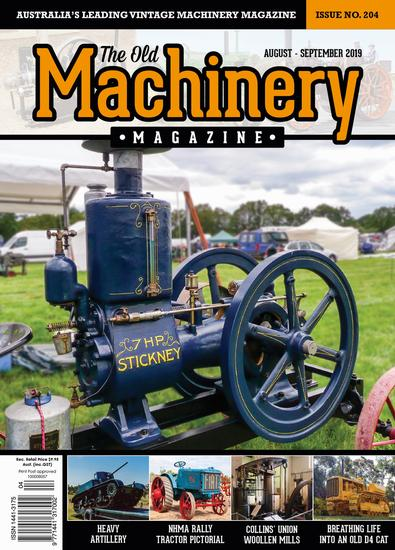 The Old Machinery Magazine cover