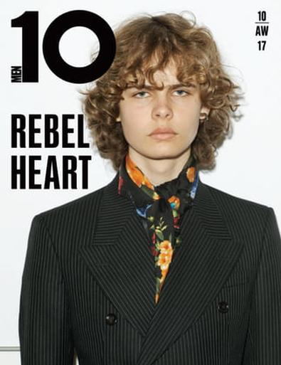 10 MEN magazine cover