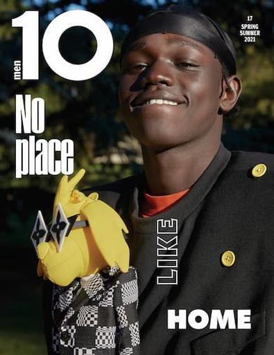 10 MEN magazine cover