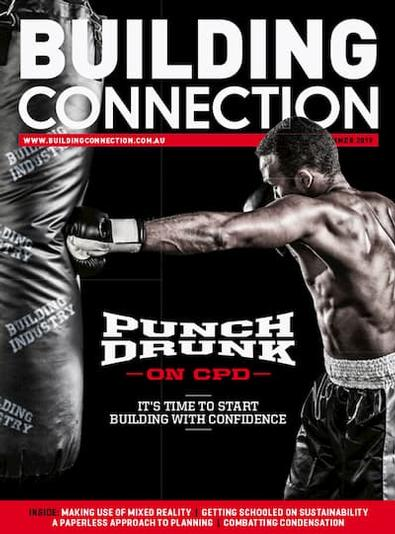 Building Connection magazine cover