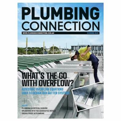 Plumbing Connection magazine cover