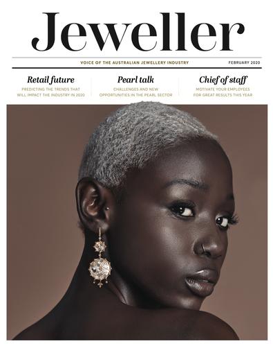Jeweller Magazine cover