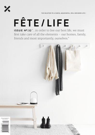 Fete/Life magazine cover