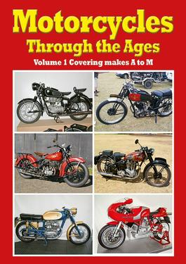 Motorcycles through the Ages Vol 1 cover