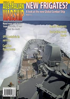Australian Warship magazine subscription