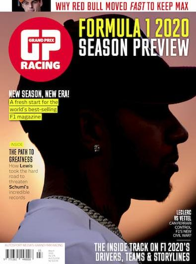 GP Racing magazine cover