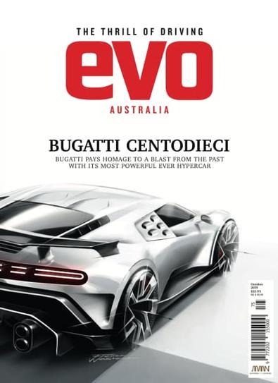 evo Australia magazine cover