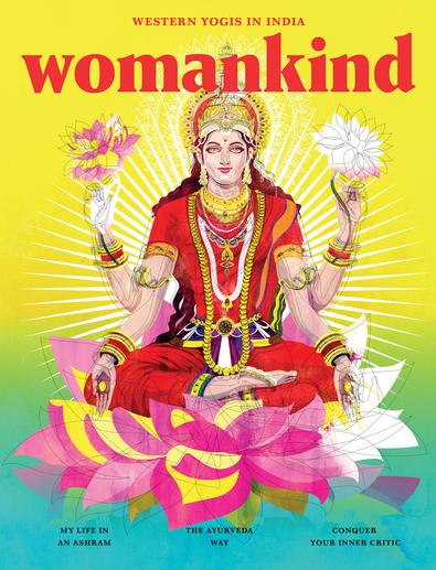 Womankind magazine cover