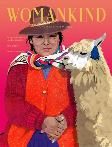 Womankind magazine cover