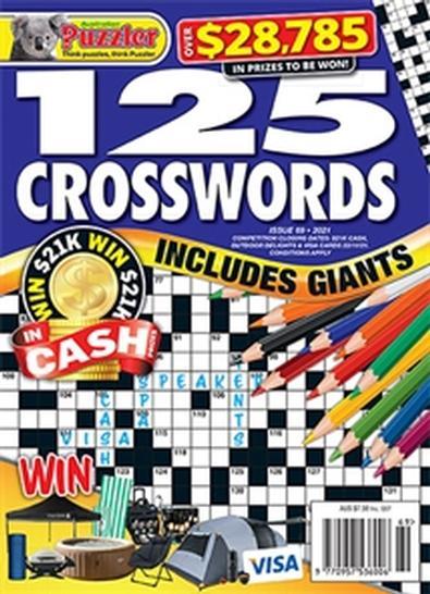 125 Crosswords magazine cover