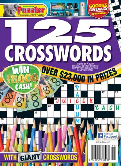 125 Crosswords magazine cover