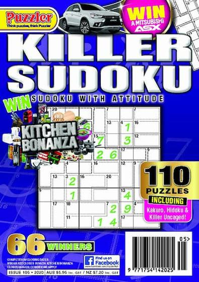 Killer Sudoku magazine cover
