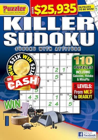 Killer Sudoku magazine cover