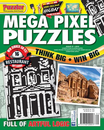 Mega Pixel Puzzles magazine cover