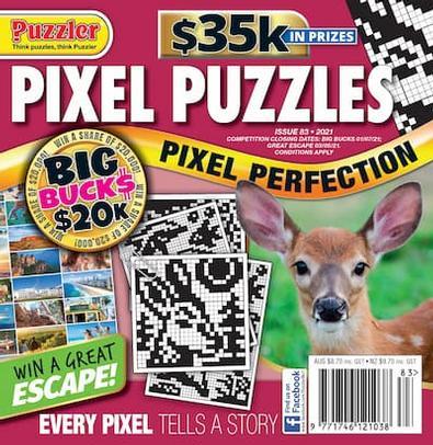 Pixel Puzzles magazine cover