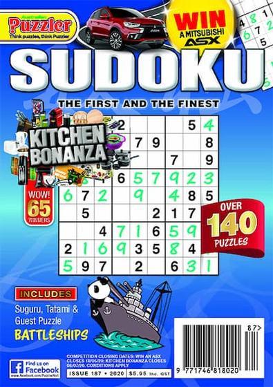 Puzzler Sudoku magazine cover