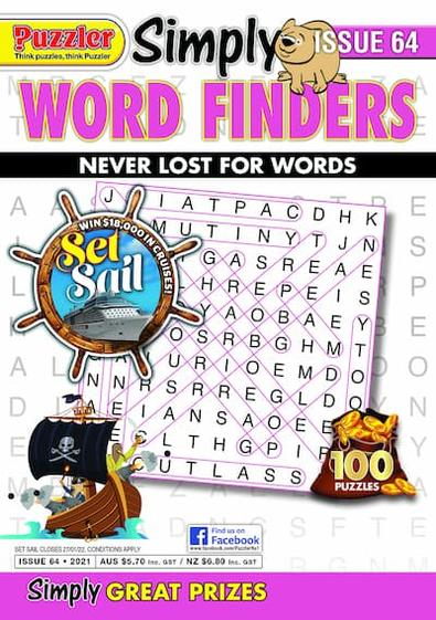 Simply Word Finders magazine cover