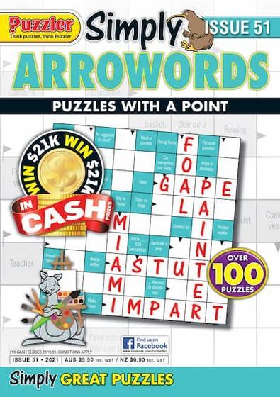 Simply Arrowords magazine cover