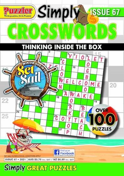Simply Crosswords magazine cover