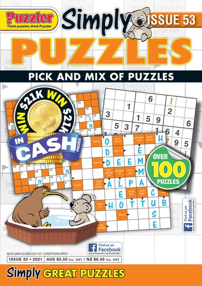 Simply Puzzles magazine cover