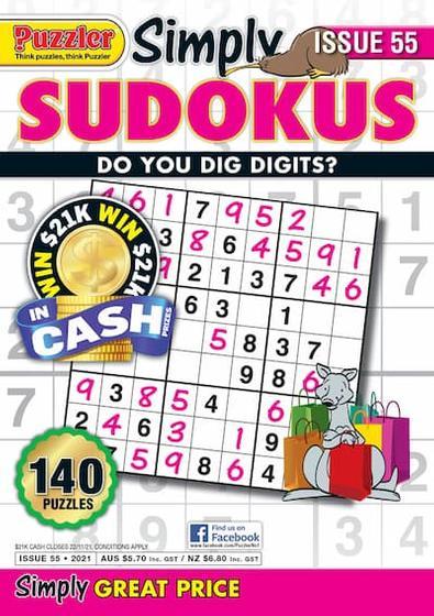 Simply Sudokus magazine cover