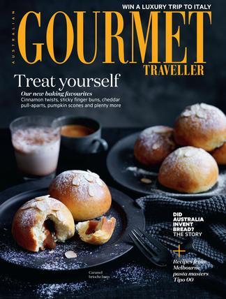 Australian Gourmet Traveller magazine subscription
