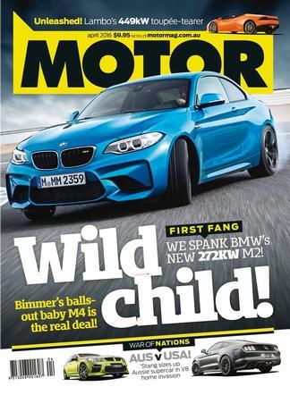 MOTOR magazine cover