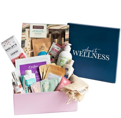 Welcome To Wellness Box cover