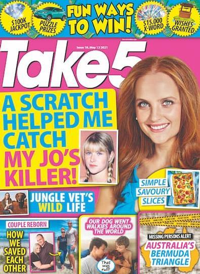 Take 5 magazine cover