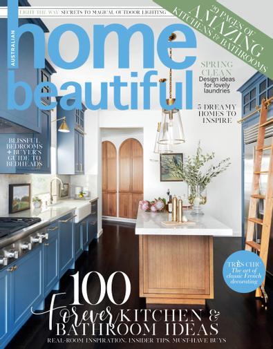 Australian home beautiful magazine cover