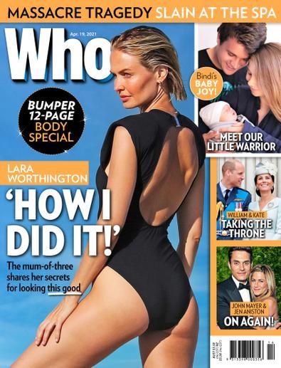 WHO magazine cover